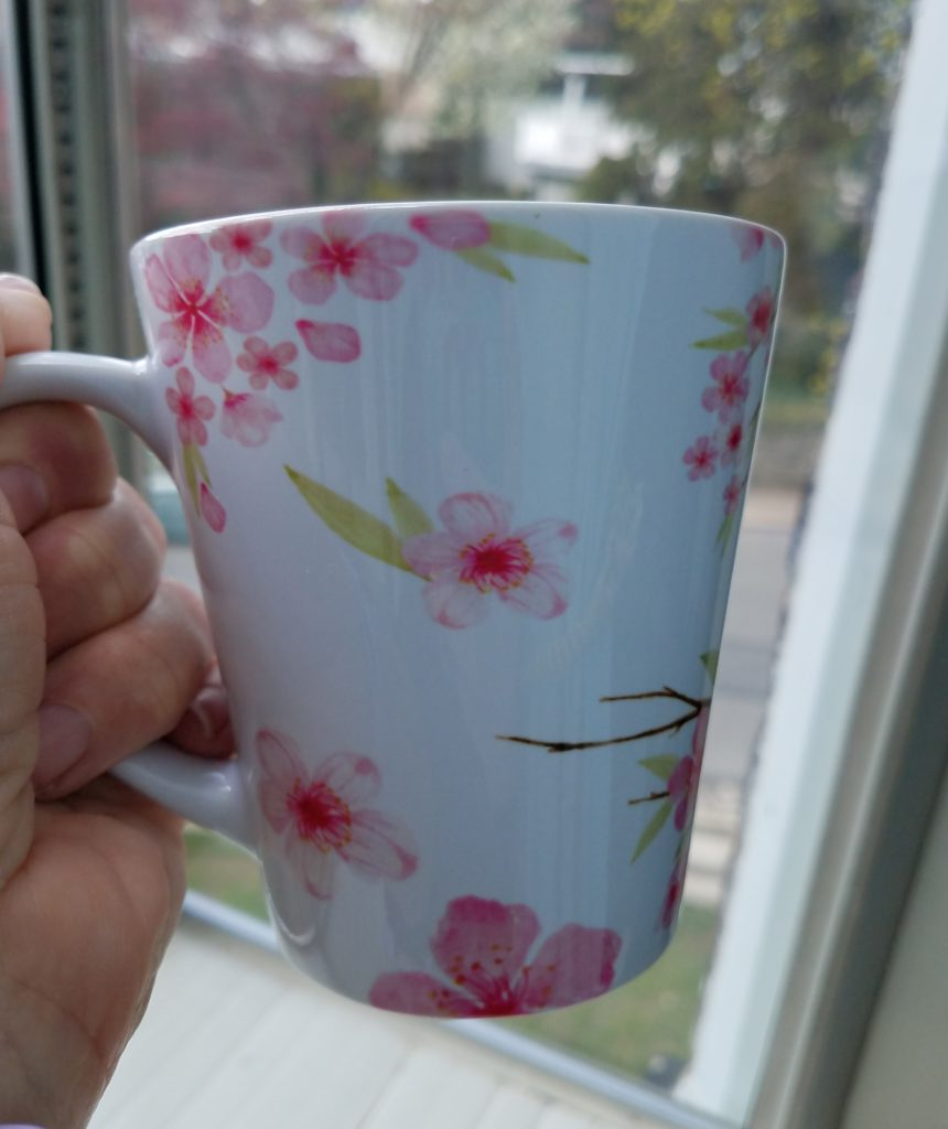 Cherry Blossom Sakura Latte Mug 04