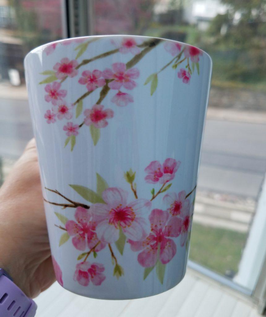 Cherry Blossom Sakura Latte Mug 03