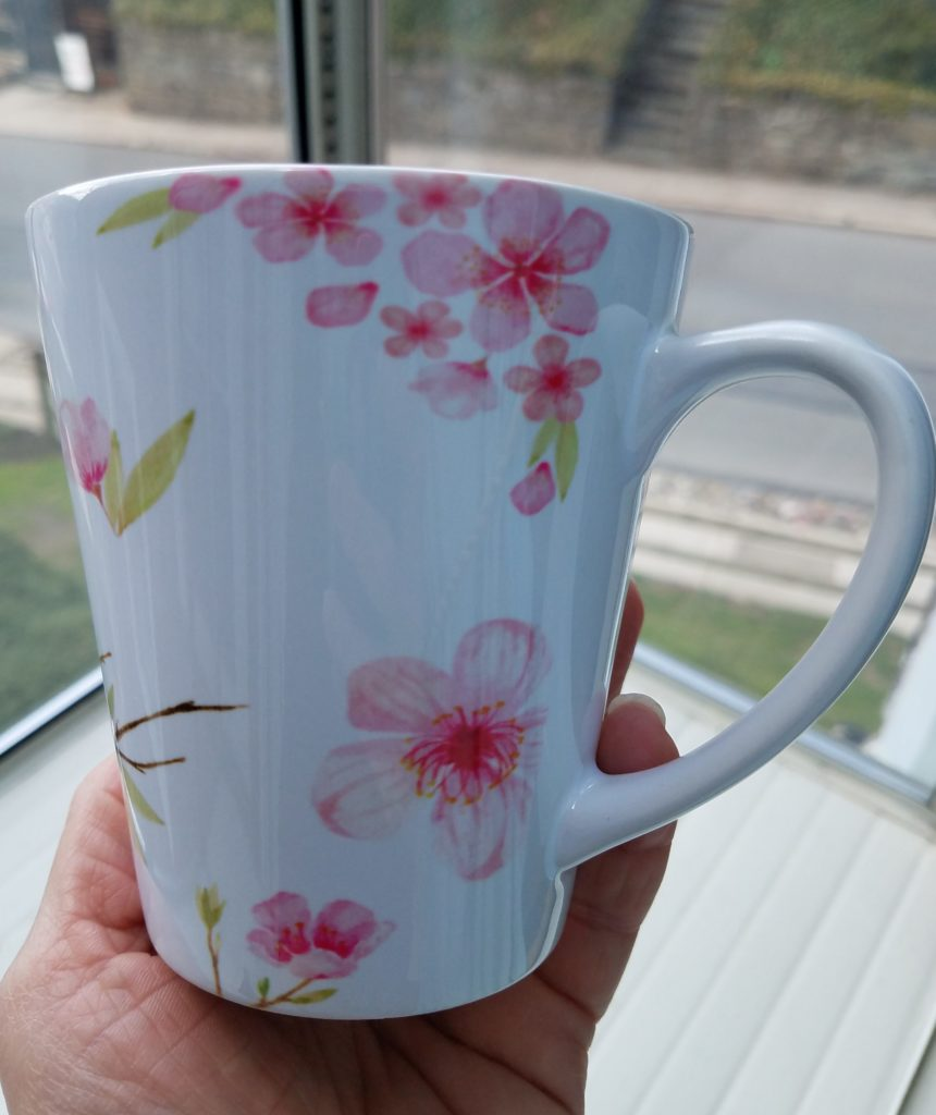 Cherry Blossom Sakura Latte Mug 01