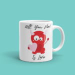 Featured Kawaii Love Monster Mug
