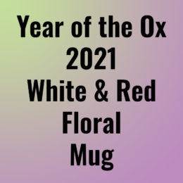 Year of the Ox 2021 Floral Mug